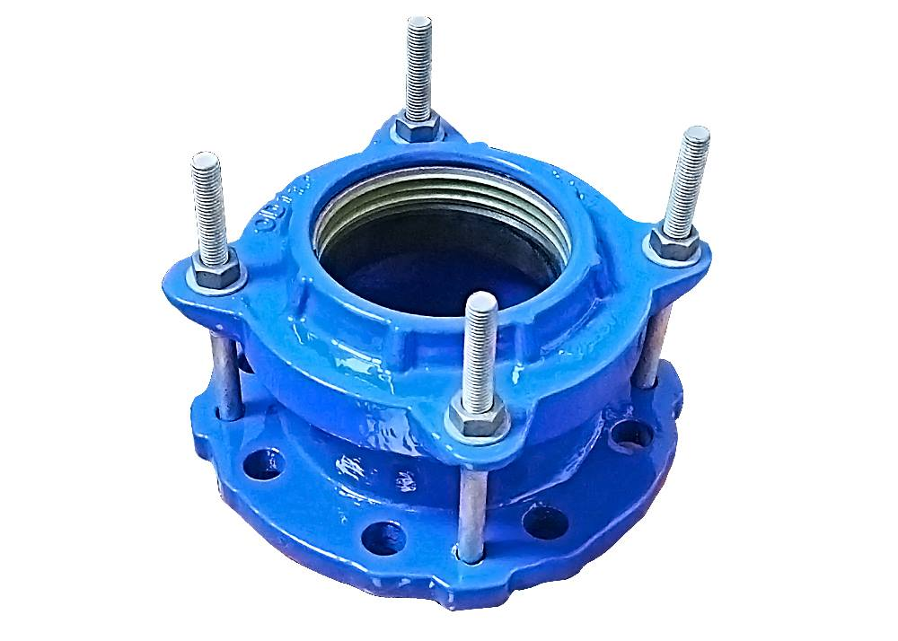 flange adaptor hdpe with grip